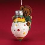 BOYDS BEAR ON CHRISTMAS BULB