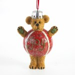 BOYDS BEAR JOY BEAR ON BALL