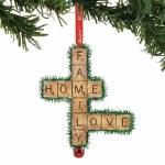 SCRABBLE FAMILY HOME LOVE