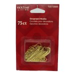 75 CT ORNAMENT HOOKS