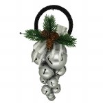 SILVER CLUSTER OF JINGLE BELL