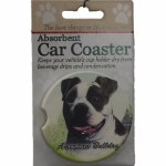 AMERICAN BULL DOG  CAR COASTER
