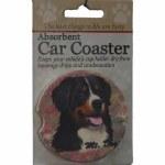 BERNESE MT DOG CAR COASTER
