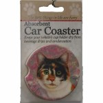 CALICO CAT CAR COASTER