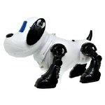 WHITE DOG SPACE ROBOT