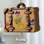 TRAVEL SUITCASE WITH DANGLE