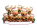 REINDEER FAMILY OF 10 TABLE TO