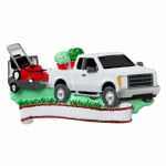 LANDSCAPERS TRUCK AND MOWER