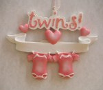 TWIN GIRLS ORNAMENT