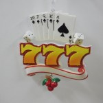GAMBING SLOTS, DICE AND CARDS