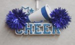 CHEER BLUE AND WHITE