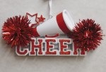 CHEER RED AND WHITE
