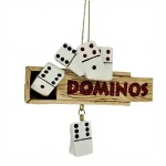 BOX OF DOMINOES WITH DANGLE