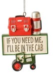 I'LL BE IN THE CAB