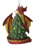 DRAGON WITH TREE