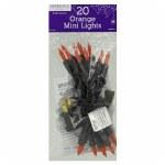 20 CT ORANGE MINI LIGHTS