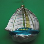 GLASS SAIL BOAT