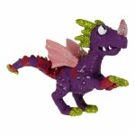 DRAGON PURPLE COL0R WITH WINGS