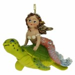 MERMAID ON TURTLE