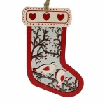 BIRD WOOD STOCKING