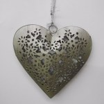 METAL HEART SHAPED