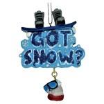 SNOWBOARDING GOT SNOW