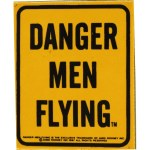 DANGER MEN FLYING