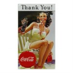 COCA COLA THANK YOU BEAUTY