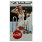 HELLO REFRESHMENT COCA COLA