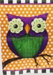 WHIMSY OWL FLAG