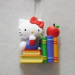 HELLO KITTY WITH BOOKS