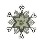 SCISSOR SNOWFLAKE