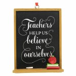 TEACHER BLACK BOARD