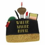 MAKEUP BAG WITH SAYING