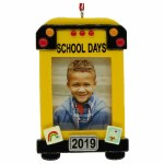 2019 SCHOOL BUS PICTURE FRAME