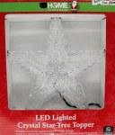LED LIGHTED STAR TREE TOP