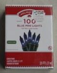 100 CT BLUE MINI LIGHTS