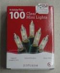 100  CT. CLEAR MINI LIGHTS