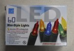 60 CT. LED MINI LIGHTS MULTI COLOR