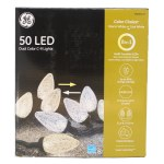 50 COUNT LED DUAL COLOR C-9 LIG