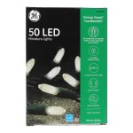 50 CT LED CLEAR MINI TEXTURED