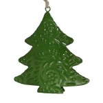 EMBOSSED GREEN TREE