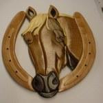 HORSE HEAD WALL HANGING