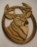 BUCK HEAD WALL HANGING