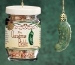 CHRISTMAS PICKLE IN A JAR