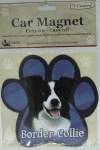 BOARDER COLLIE CAR MAGNET