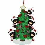 BEARS ON TREE FAMILY OF 5