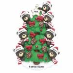 BEARS ON TREE FAMILY OF 7