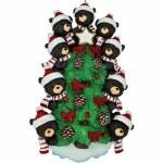 BEARS ON TREE FAMILY OF 9