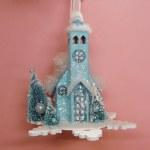 SNOWFLAKE CHURCH BLUE